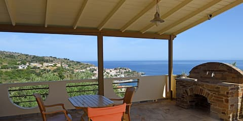 Kerame house with beautiful sea view
