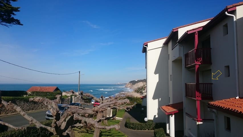 Appartement Balcon Front de Mer  & parking privé