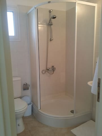 One of 2 Shower/WC