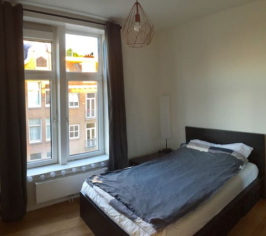 Private room in bright, newly renovated apartment