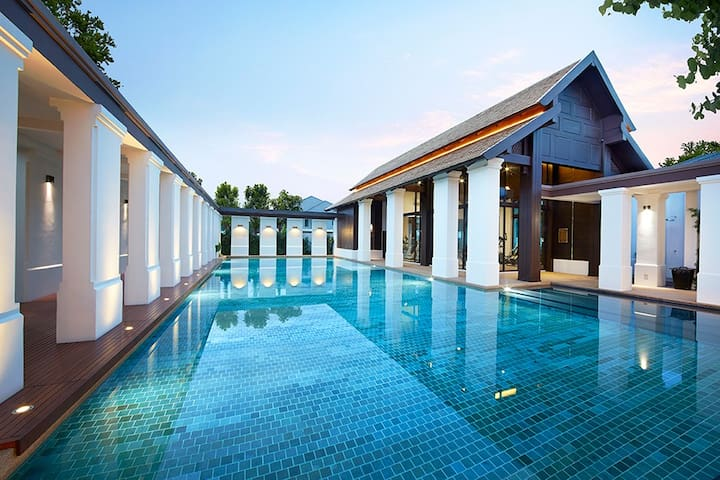 Setthasiri Sansai  高尚别墅 ,自由行包车游清迈,清莱,拜省,一次玩透透 - Chiang Mai - Casa