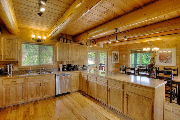 PLENTY OF COUNTERSPACE AND STAINLESS STEEL APPLIANCES