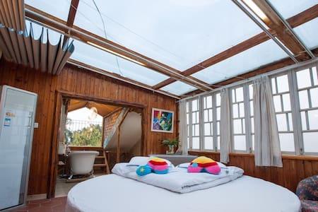 距离大海100米的,可以数星星的楼顶浪漫屋。(第七天星空蜜月房) - Xiamen