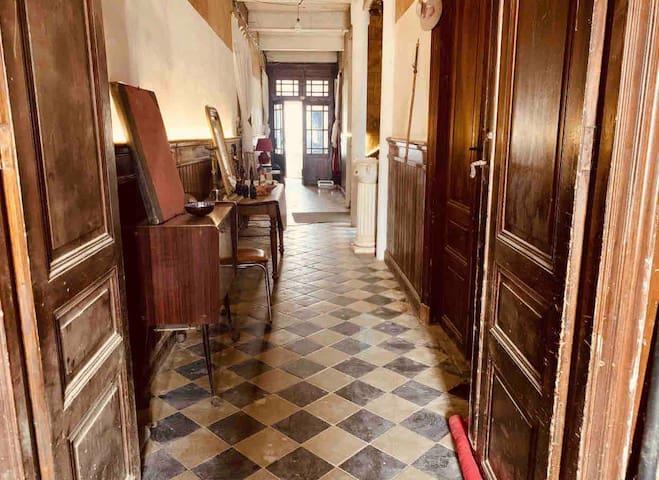 Chambres privées dans maison ancienne 1873
