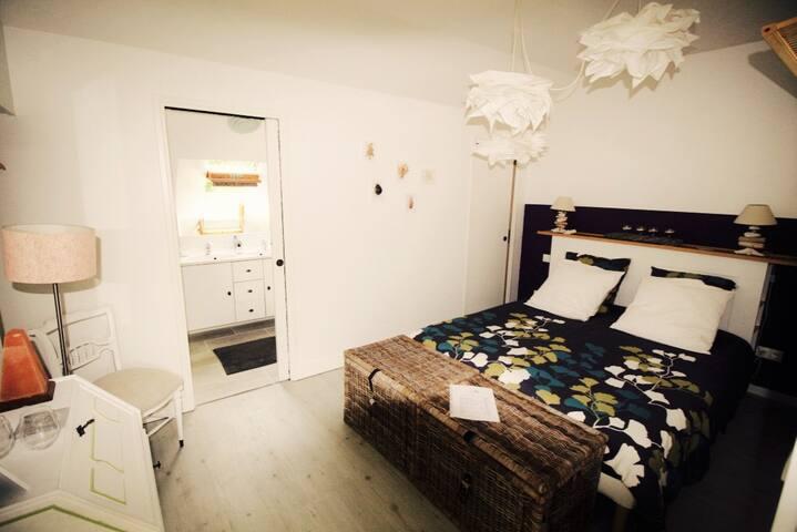 Escapade romantique, Nature, Spa et bord de mer - Carcagny - Guesthouse