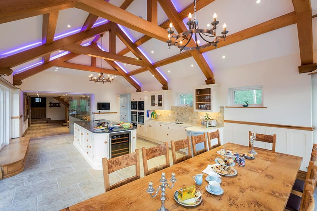 Ground floor: Kitchen with stunning panoramic views of Ullswater and the fells beyond