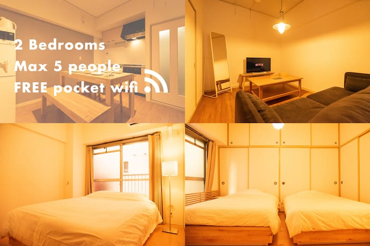 NEW! Middle of centre 3min walk from Shijo sta#201