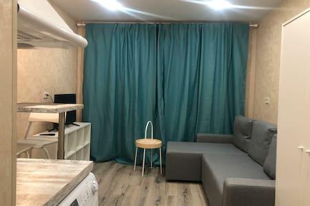 Очень уютная студия ждёт Вас в гости!!!