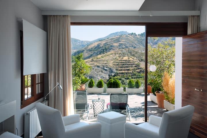 Eco-boutique hotel: Hab SUP con terraza y vistas