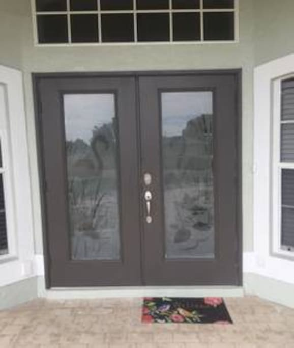 You will be able to get into our front door by using the individualized numerical code we assign to you.