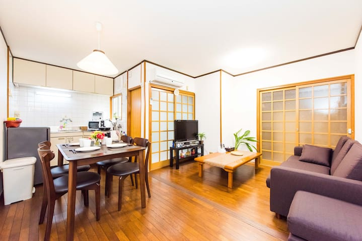 ★Fantastic location!!★easily accessible/WIFI #154 - Shimogyo Ward, Kyoto - Hus