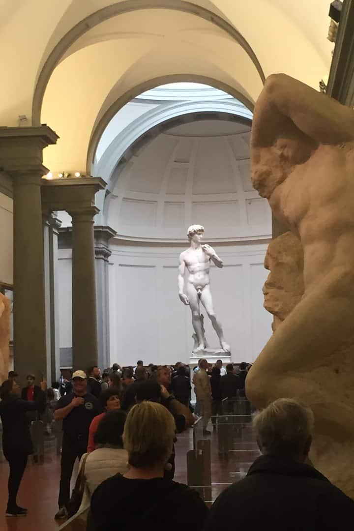 David and a prisoner