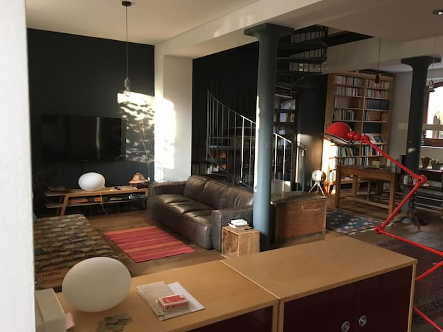 Beautiful, spacious and fully equipped 4 beds loft