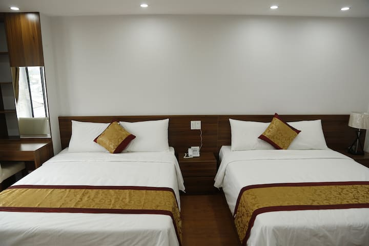 Twin bed room Bao Ngoc Diamond Hotel Cao Bang