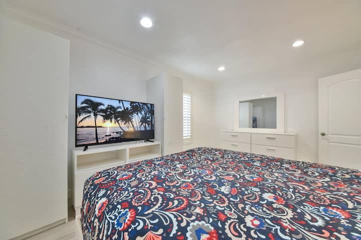 Newly Renovated Home w/ AC, Bidet, & 4K TVs