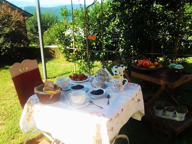 Casa Sofia sulle incantevoli colline pistoiesi - Casore del Monte