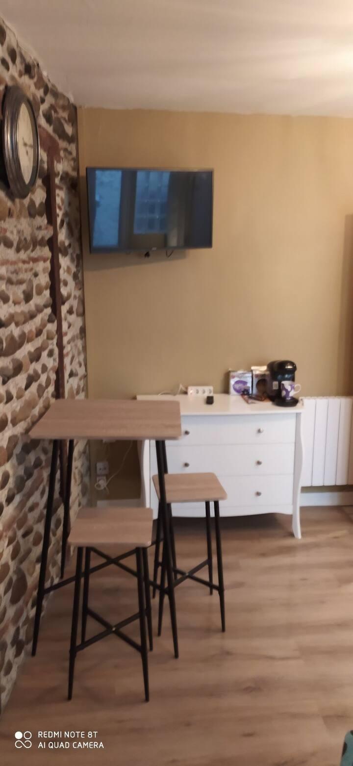 Jolie studio à l'esprit cosy à Pau centre