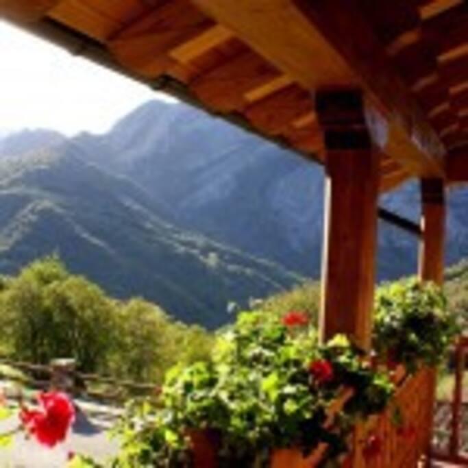 Espectaculares vistas a la montaña