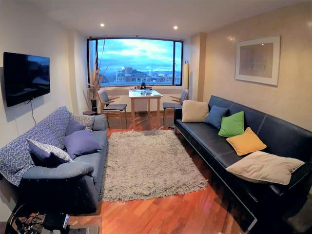 Room with private bathroom - Chapinero Alto Bogotá