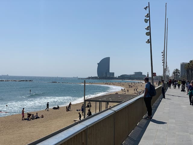 NEW Apartment in Barceloneta, Barcelona.