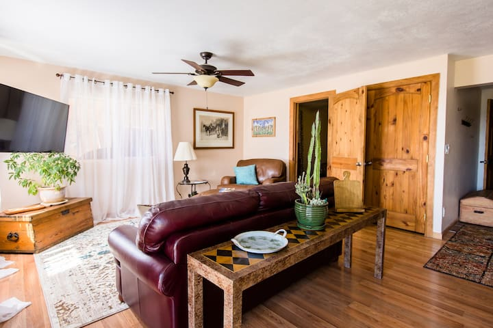 Dog Friendly Sunny Alpine Suite near town