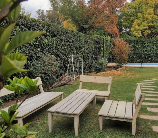 BERDINA lofthouse w/garden in Chacras de Coria MDZ