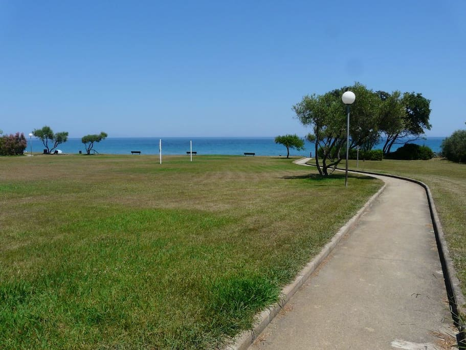 Vers la plage  (Environ 250 m de la villa)