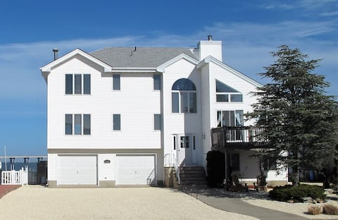 Bay Front Home - Amazing View - Great LBI location