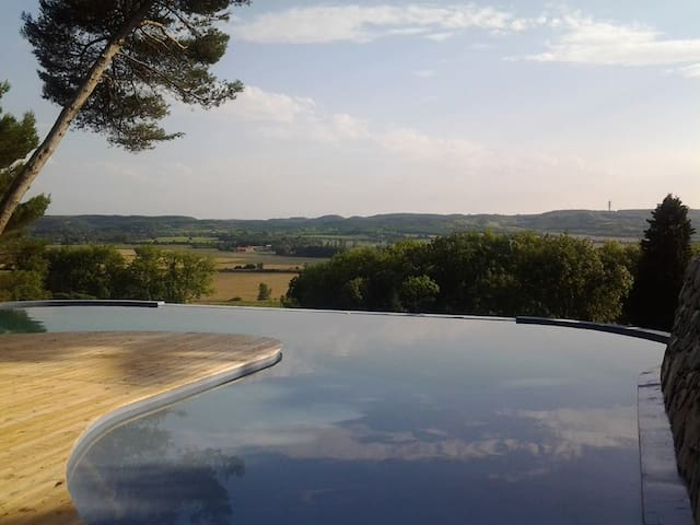 Mooie kasteel+zwembad/Canal du Midi - Mas-Saintes-Puelles - Huis