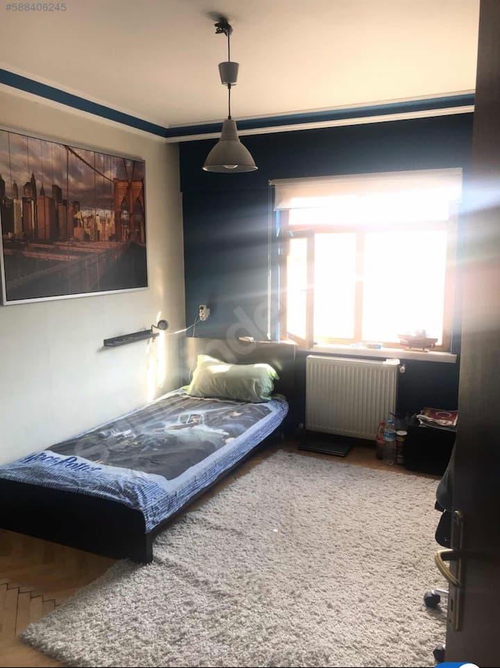 Günlük ortak kullanımlı özel odalar(daily rent)