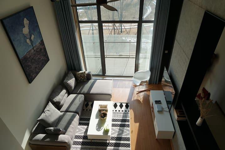黄金海岸Aranya阿那亚113平两居近海公寓 - Qinhuangdao - Condominium