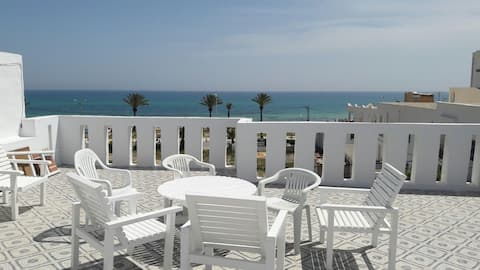 Conmfortable flat with seaview