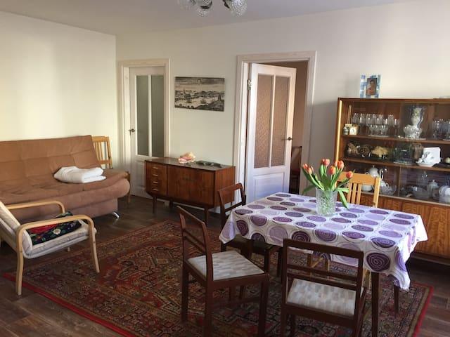 Tilava huoneisto Viipurin keskustassa