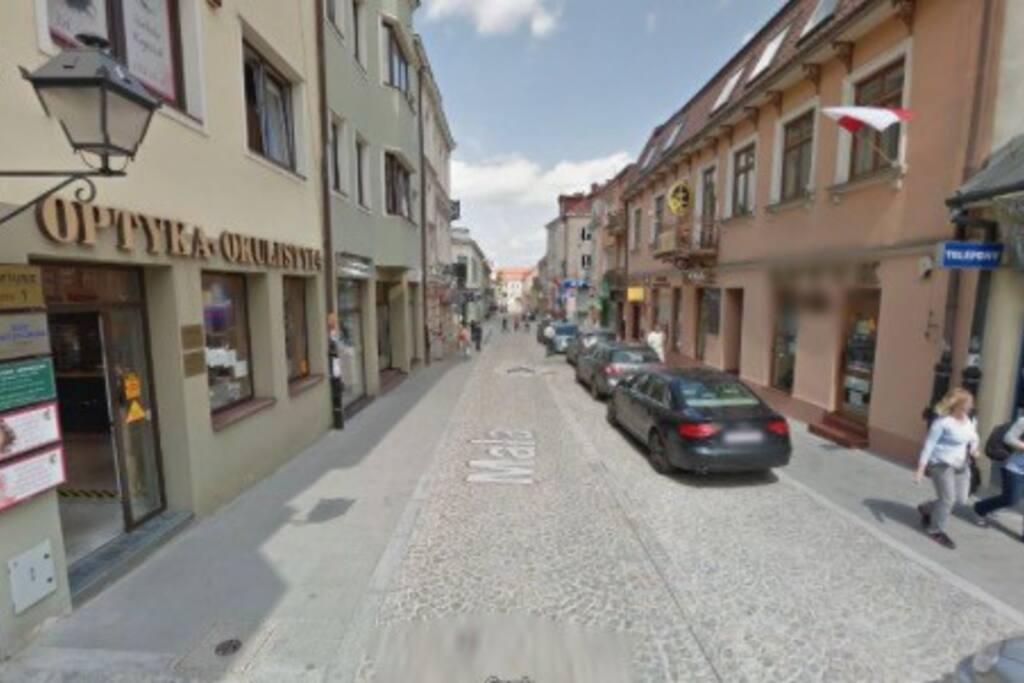 Ulica Przy Którym znajduje się apartament