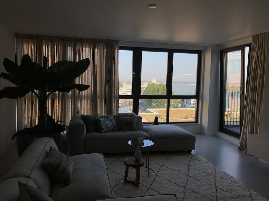 Living room + view