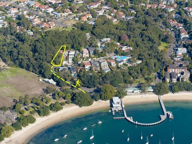 Balmoral apartment amongst trees - Mosman - Apartment