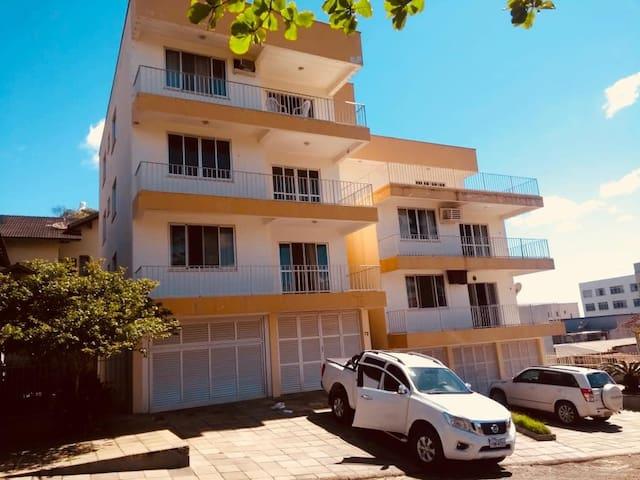 Aconchegante apartamento  com vista pro mar