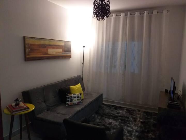 Apartamento inteiro, equipado com todo o conforto.