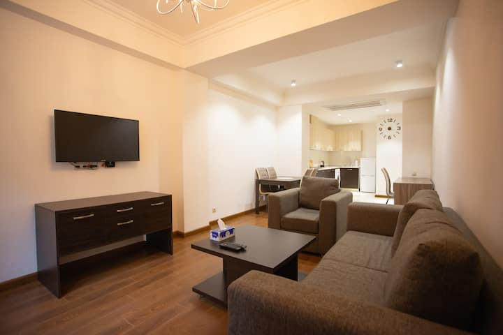 Spacious 2-BDR Republic Square Apartment