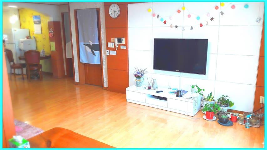 거실 공용공간 (TV, 와이파이)
