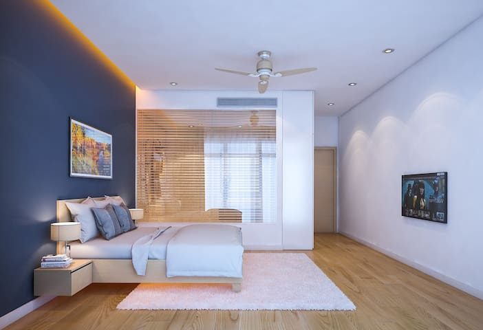 A Spacious Modern Room Close to Danang Beach - Phước Mỹ - House