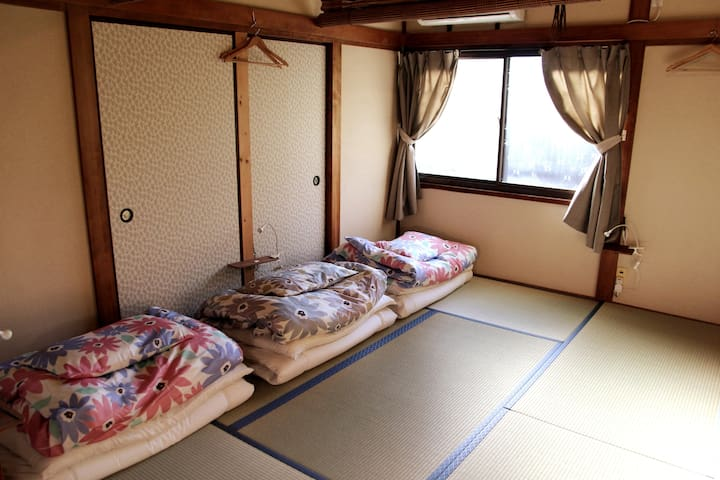 【women only】 Japanese tatami room.Free Wi-Fi