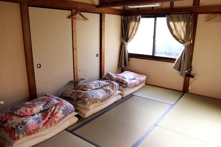 """""""僅限女士""""日式和私人客房。 1-3個人♪Free Wi-Fi"""