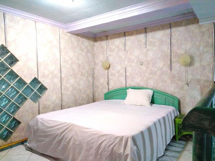 Guesthouse Kos Jakarta ( Flamingo room)