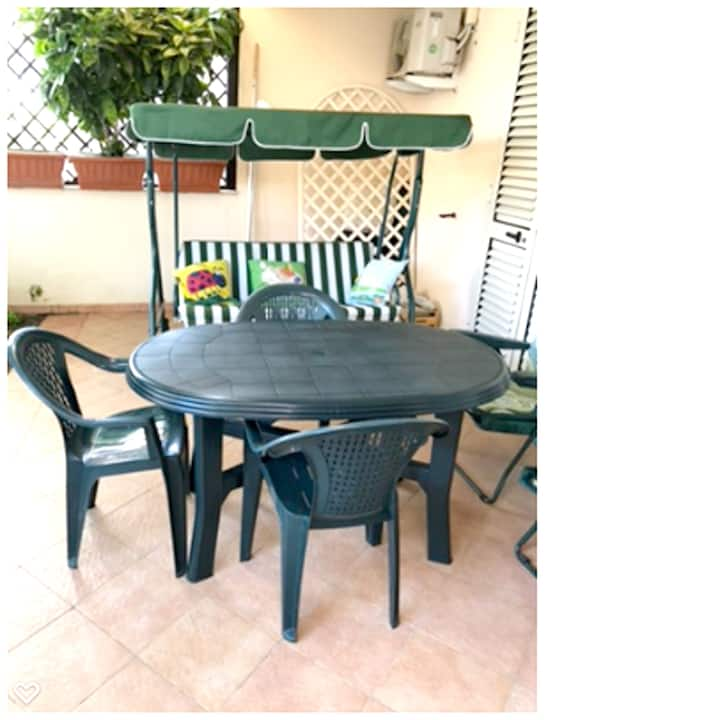 Apartment with 2 bedrooms in Marina di San Lorenzo, with enclosed garden and WiFi - 300 m from the beach