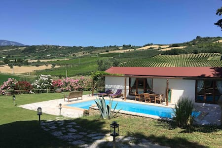 Glamping Abruzzo - The Pool House