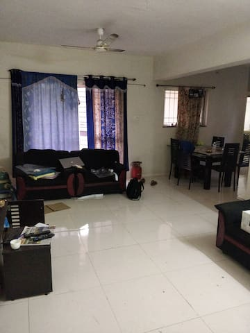 Private room in specious apartment