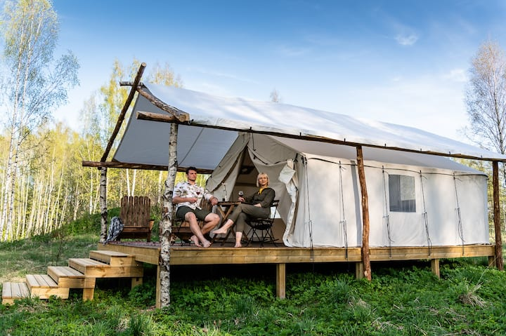 WIld'ness Retreat Gauja Park - Wild Wood Glamping