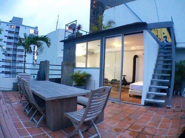 Penthouse Suite avenida Balboa (Private Terrace)