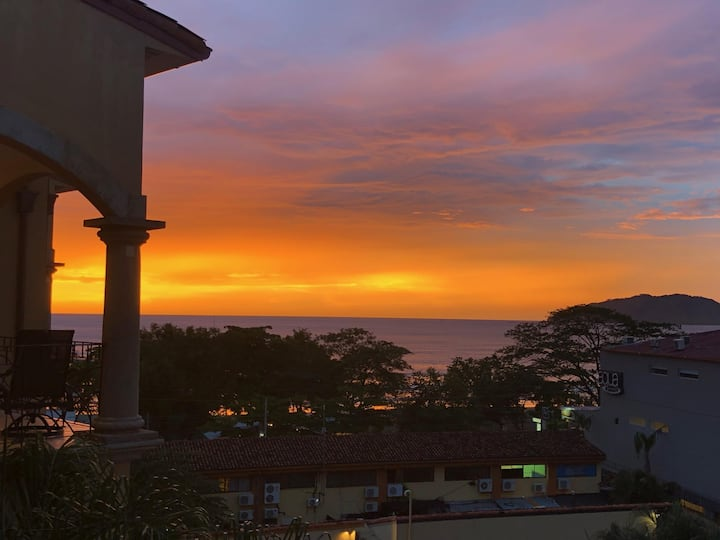 As seen on HGTV--2 BR Ocean View penthouse in the heart of Tamarindo! (SR12)